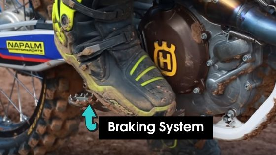 Command over the Braking System How to wheelie a dirt bike