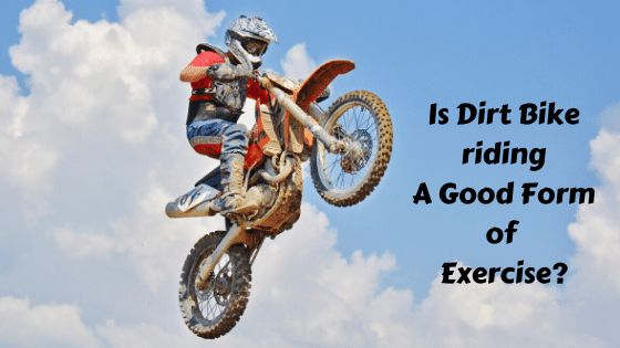how does motocross affect the body as exercise