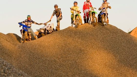dirt bike sand riding tips